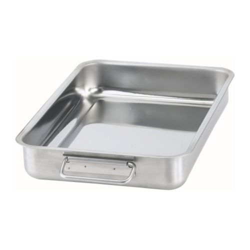 KONCIS Roasting tin, stainless steel stainless steel 34x24 cm