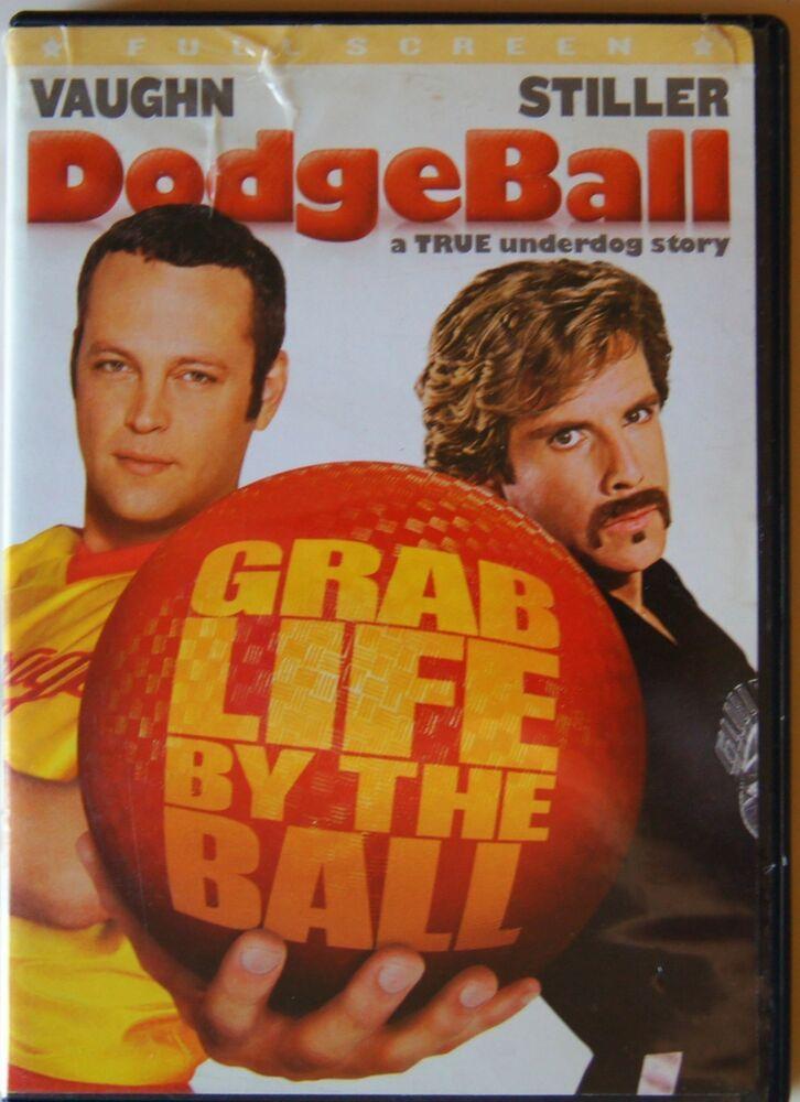 Dodgeball A True Underdog Story Dvd 2004 Full Frame Vince