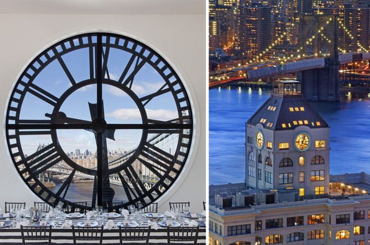 Magnificent Triplex Penthouse in Brooklyn's Iconic Clock Tower Building
