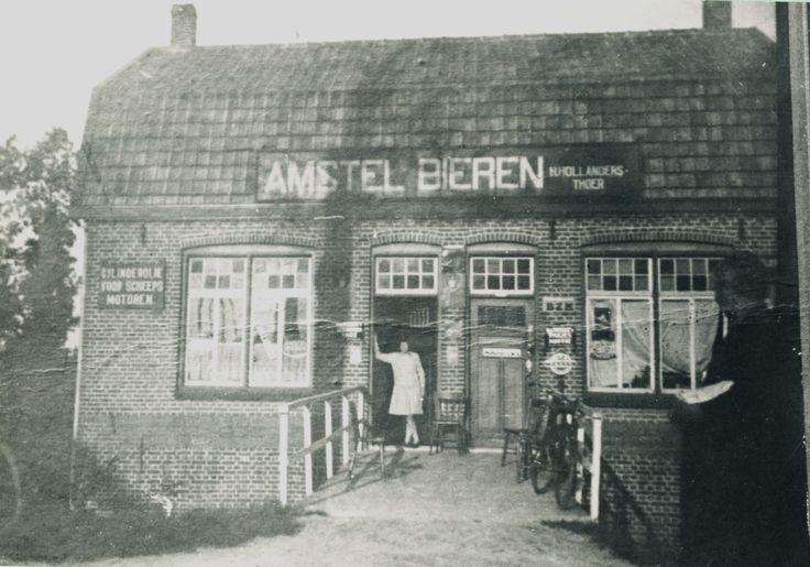 Asten, Café Den Hollander, Kanaalweg 5 nabij Sluis XII. 1965