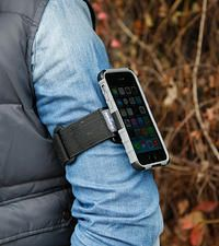 Rugged case for iPhone with sport armband and X-mount system. Check it out.
