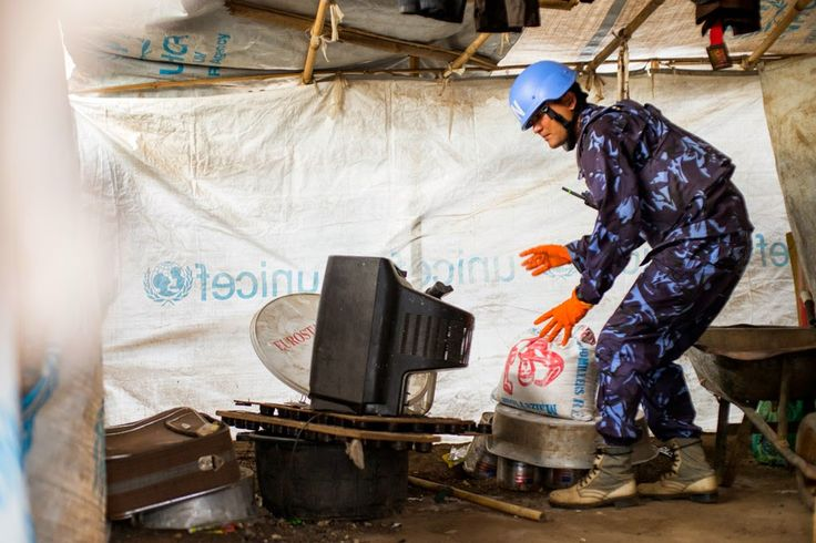 South Sudan: UN mission destroys weapons seized from displaced persons camps