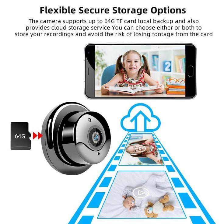 Wireless Mini WiFi Camera Home Security IP CCTV