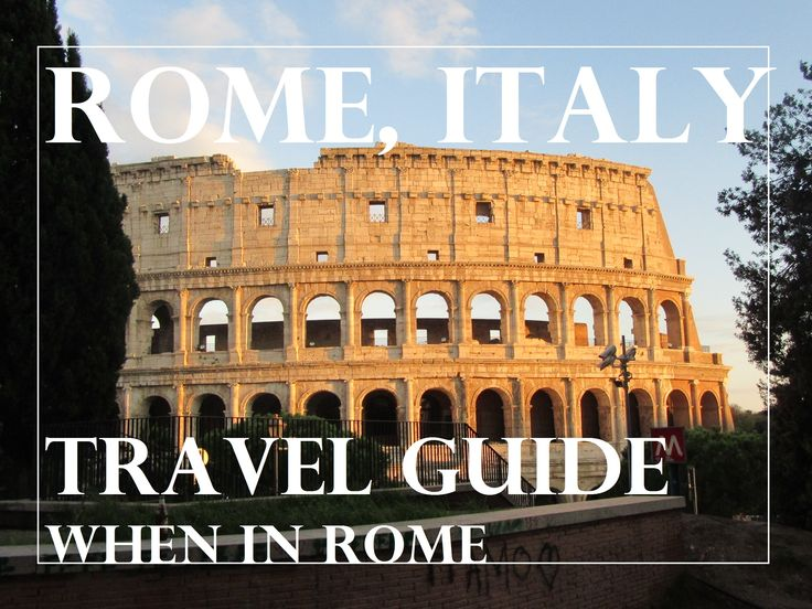 When in Rome- Where to go, eat and visit. How to get from on the subway from Tremini to the Vatican and Colosseum and more!