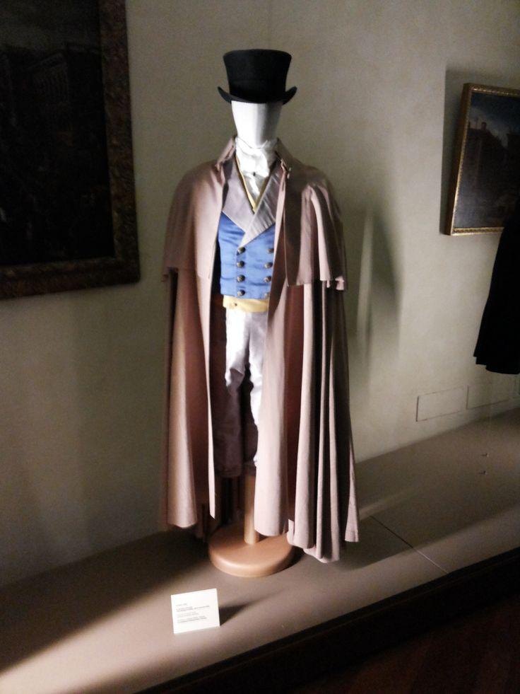 ROMA_Museo Palazzo Braschi, mostra i vestiti dei sogni, la scuola italiana dei costumisti del cinema, indossato da Alberto Sordi nel Marchese del Grillo di Mario Monicelli, 1981