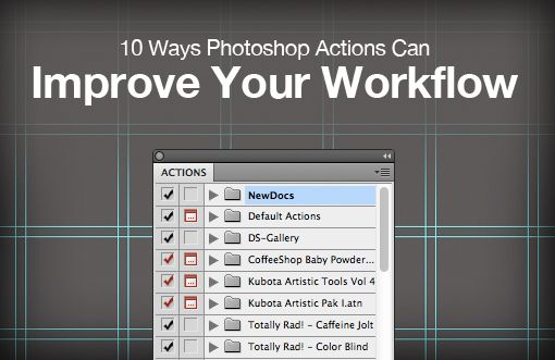 10 Ways Photoshop Actions Can Improve Your Workflow: Graphic Design, Ways Photoshop, Improve Workflow, Tutorial, Photoshop Actions, Photoshop Stuff, Photography Ideas