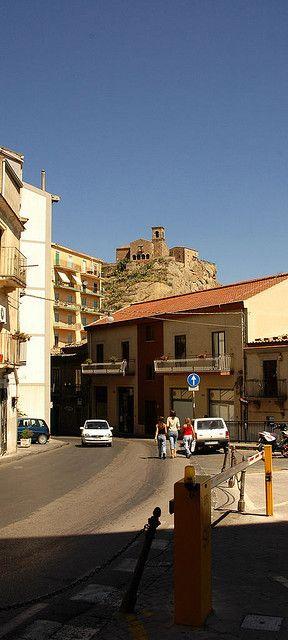 Nicosia, curva di San Felice - Sicily, Italy