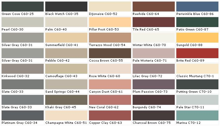 Dark charcoal color pallete chip sample swatch for Color charts for painting walls