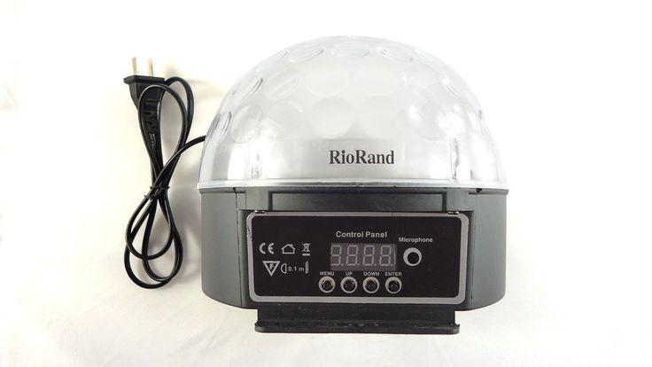 Amazon.co.jp : RioRand ステージライト IMAGE 5ミックス色ミニ20W DMX音声起動 LEDRGB LED Crystal Ball 舞台照明 ミラーボール : ホーム&キッチン