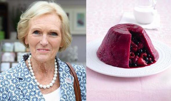 Bake Off legend Mary Berrys summer fruits puddng recipe