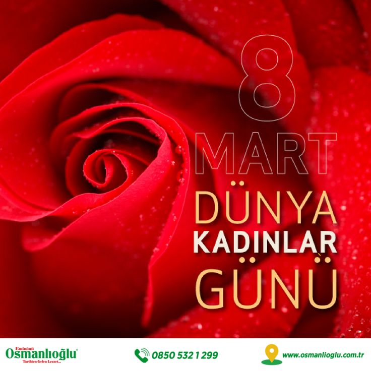 8 Mart Dünya Kadınlar Gününüz Kutlu Olsun💐