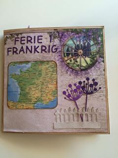 Ruth's lille blog: Ferie i Frankrig