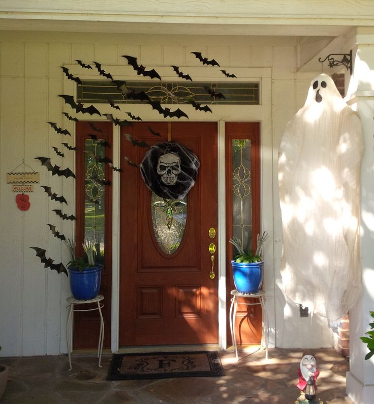 My front porch Halloween 2015