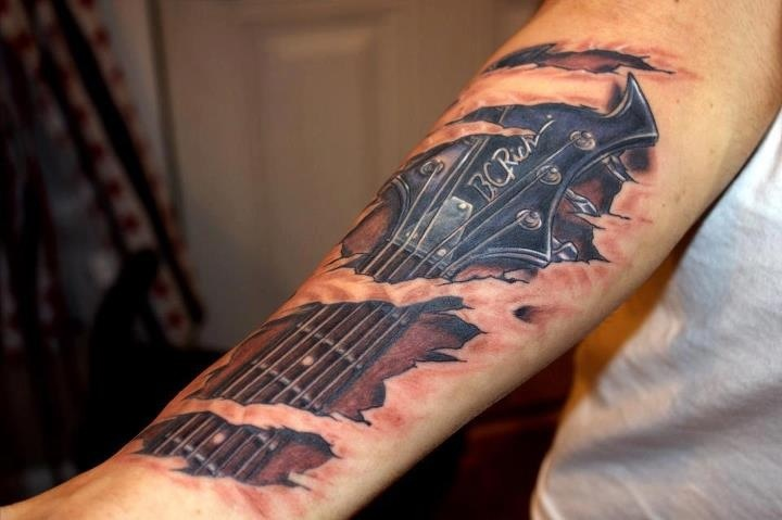 Incredible tatoo..a good friends son had this made!