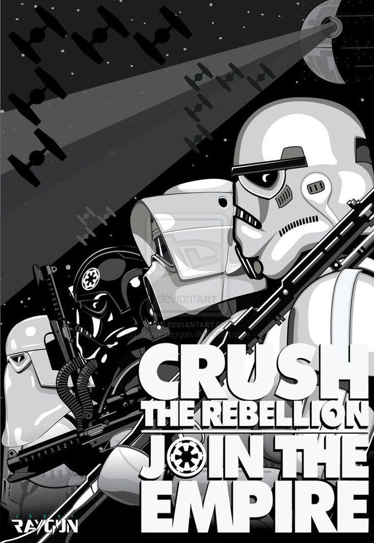 Star Wars > Poster: Crush the Rebellion - Join the Empire