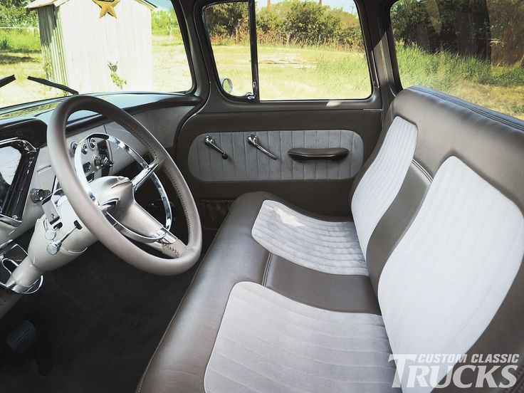 Chevy Truck Bench Seat Ideas For My Next Project