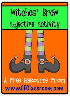 I'm so doing this in October.Holiday, Classroom Freebies, Teaching, Clutter Fre Classroom, Adjectives Activities, Brew Adjectives, Freebies Alert, Halloween, Witches Brew
