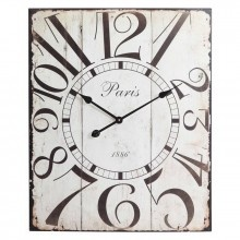Redding Clock // This is AWESOMEIdeas, Wall Decor, Parisians Chic, Cooper Classic, Red Wall, Classic Red, Wall Clocks, House, Red Clocks