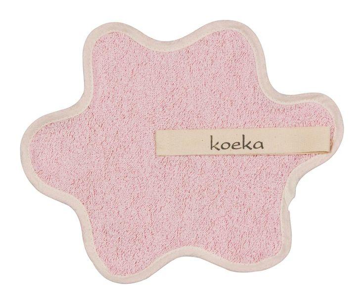 Koeka speendoekje uit de Rome-serie in de kleur baby pink uit de online shop van Babyaccessoires.eu.