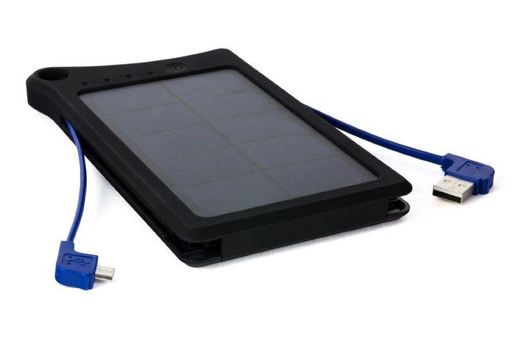 New Black SolarFlare 18000mAh Portable USB Charger Power Bank w/ Solar Panel #Opteka