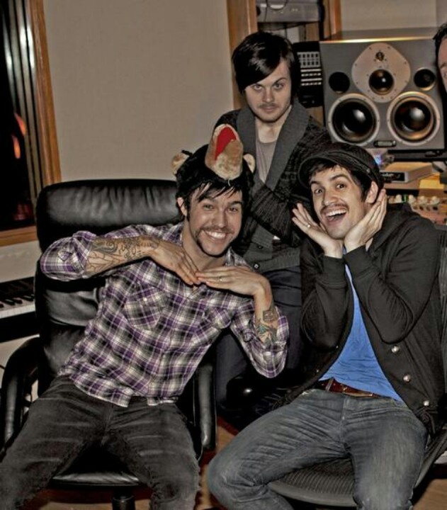 Pete Wentz, Brendon Urie, and Spencer Smith being Mexican.