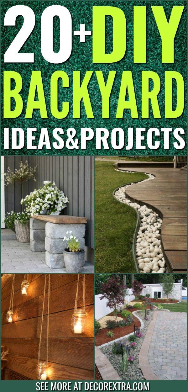 20+ Amazing DIY Backyard Ideas That Will Make Your ...