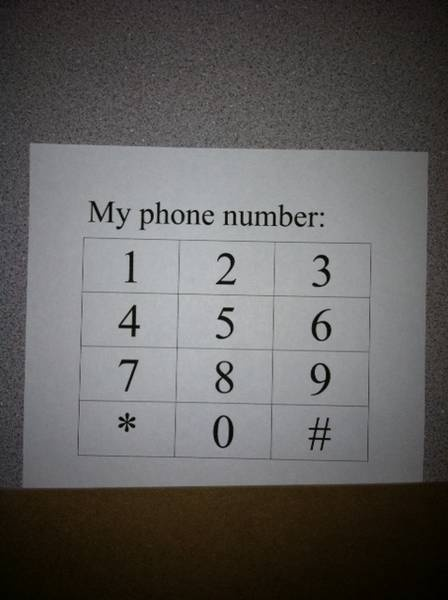 Here is how we learn our PhoneNumbers before Kindergarten. I made the phone grid on my computer- under the brown strip is the child's home phone number. They LOVE to learn their own 'digits!'