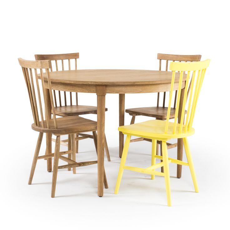 Wood H6 matbord, ek från Department – Köp online på Rum21.se