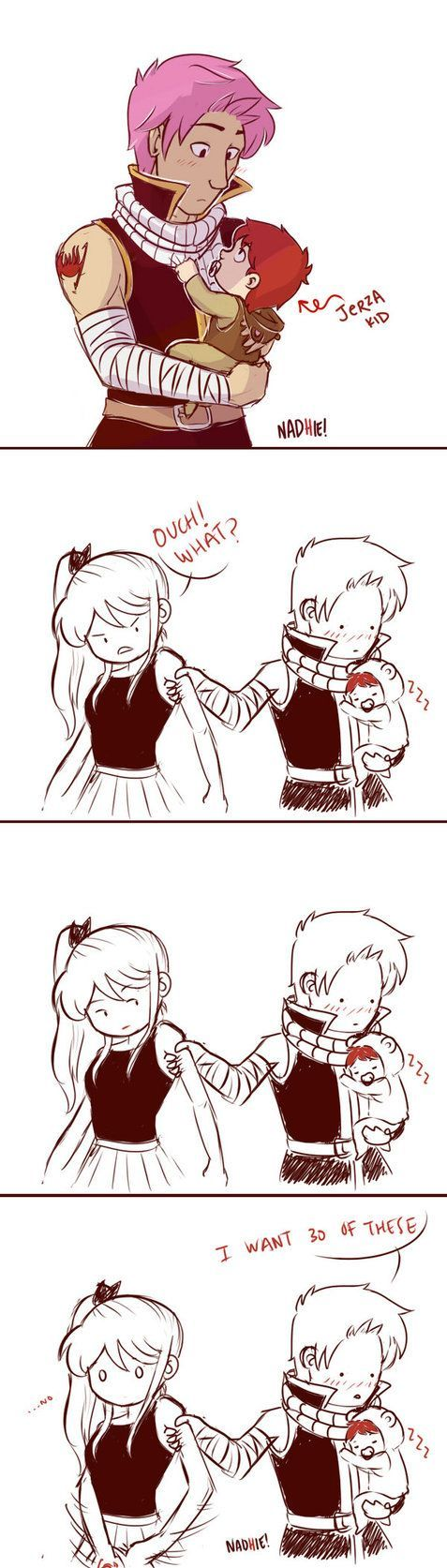 Natsu and Lucy: