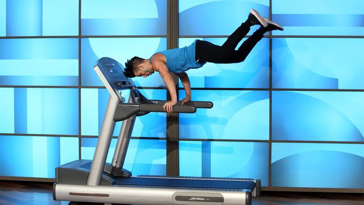 Treadmill Dancer Carson Dean.. .*WHAT FUN! Could watch him do this for hours. Combination exercise and dance; doesn't get any better than that  ;)