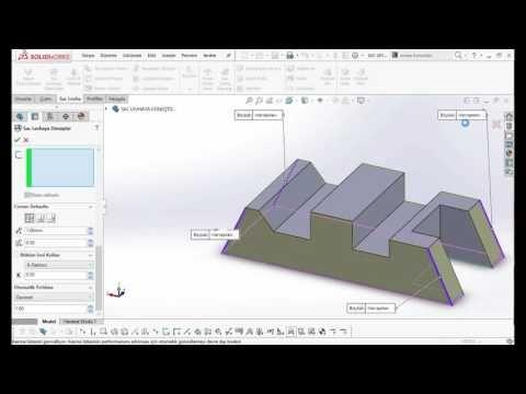 3 SAC METAL SAC LEVHAYA DÖNÜŞTÜR HD Solidworks Eğitim | Solidworks Eğitim - Cinema 4D Eğitim - Autocad Eğitim - Revit Eğitim - 3Ds Max Eğitim - Carrier Hap Eğitim