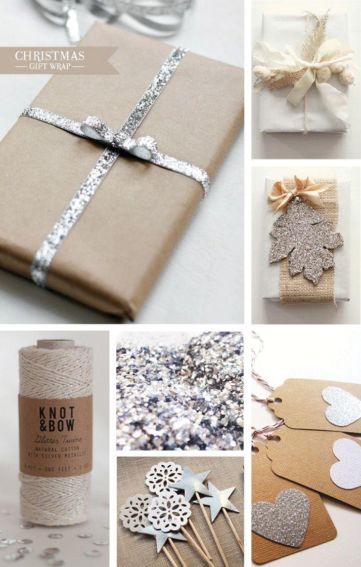 Glitter Gift Wrap