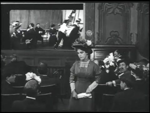 Florence Lawrence in Those Awful Hats (1909)