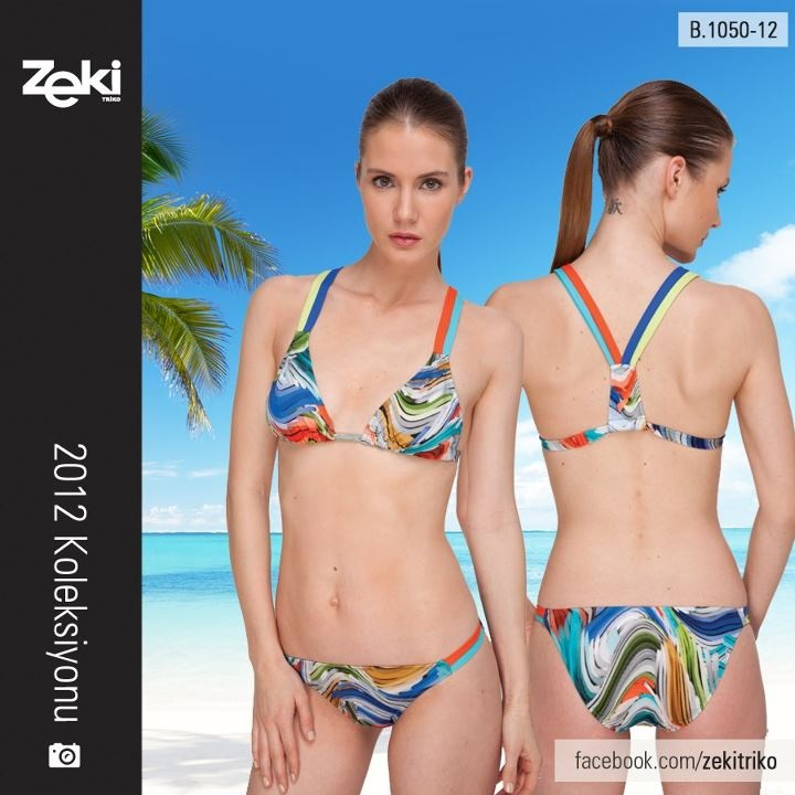 Zeki Triko Swimwears #swimwears:  Two-Piec, Triko Swimwears, Swimwears Swimwears
