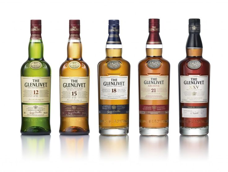 "Glenlivet ""The single malt that started it all"""