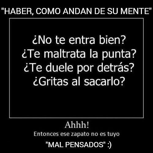 MAL PENSADOS :)