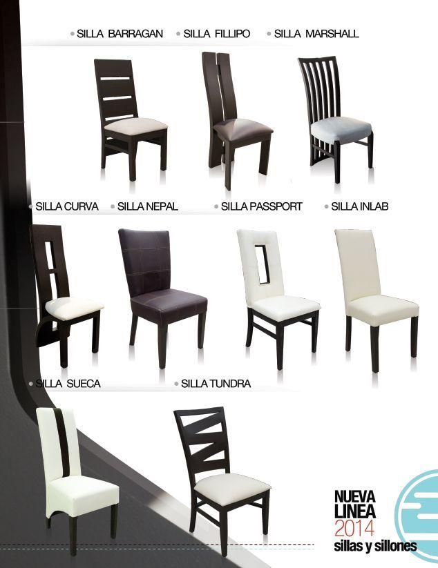 Sillas para comedor de inlab muebles varios modelos for Sillas para antecomedor