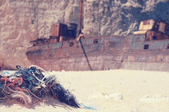 Shipwreck Beach & Rocks by DreamstaleStock on @creativemarket