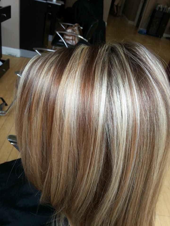 Chunky Lowlights For Grey Hair Hairstylegalleries Com