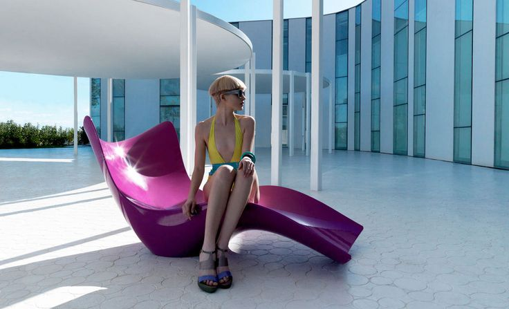 Indoor outdoor furniture - Designed by Karim Rashid - SURF