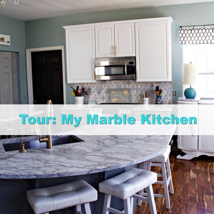Carrara Marble Kitchen Benchtops: 17 Best Ideas About Carrara Marble On Pinterest