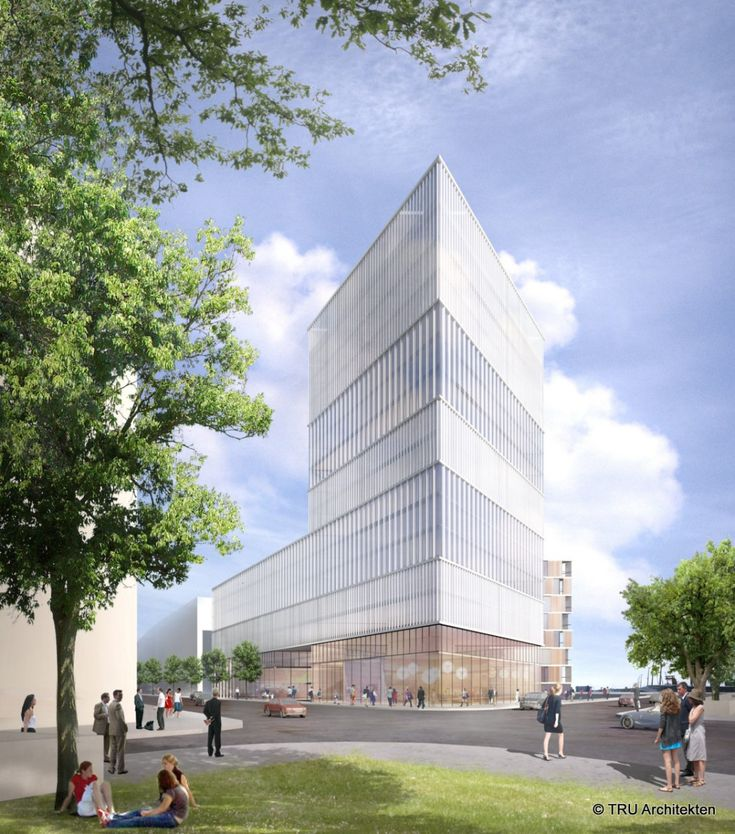 Campus Tower - Office building Hamburg