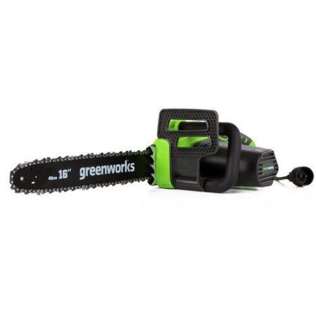 Greenworks 20232 12 Amp 16 in. Electric Chainsaw, Multicolor
