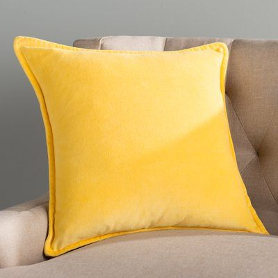 Sleeper Sofas Willa Arlo Interiors Guido Smooth Cotton Throw Pillow Size H x