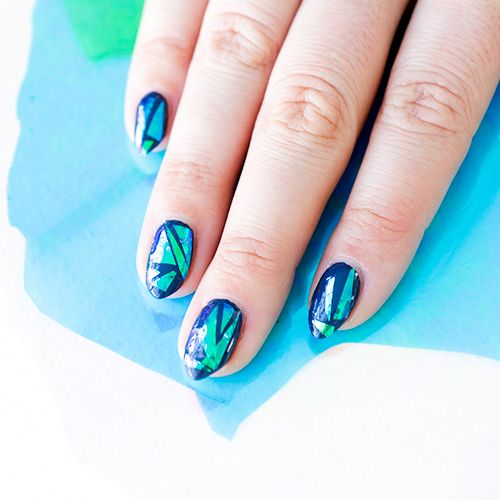 DIY the Hottest Nail Trend on the Internet: The Glass Manicure