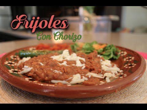 (100) Fijoles Con Chorizo (How To) - YouTube