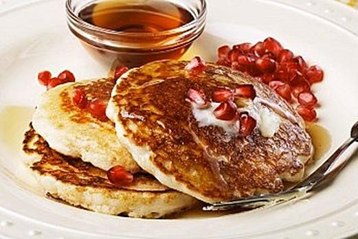 Pomegranate Pancakes | Dish deLish | Pinterest