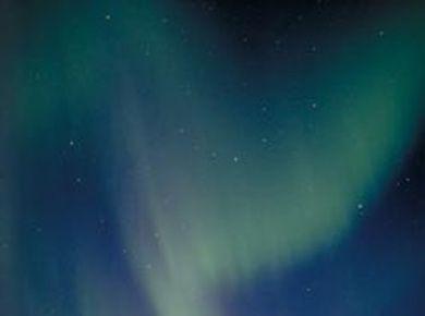 Északi fény, sarki fény, Lappföld Finnország