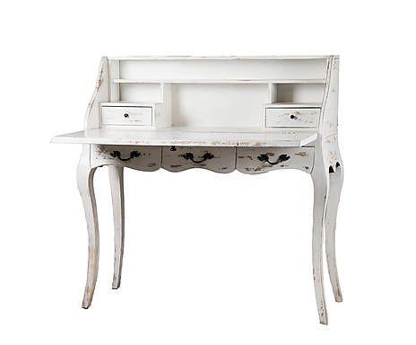 туалетный столик - тамариндовое дерево - белый - Д100хШ45