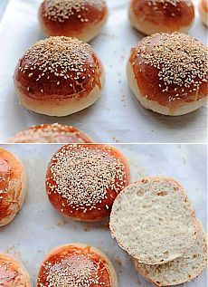 Булочки для гамбургеров - рецепт с фото - Рецепты с фото